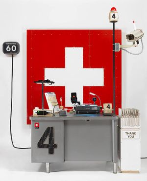 Tom Sachs. Swiss Passport Office