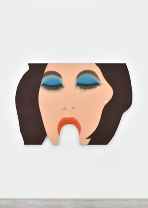 Tom Wesselmann. Girl eating a banana, 1967-68