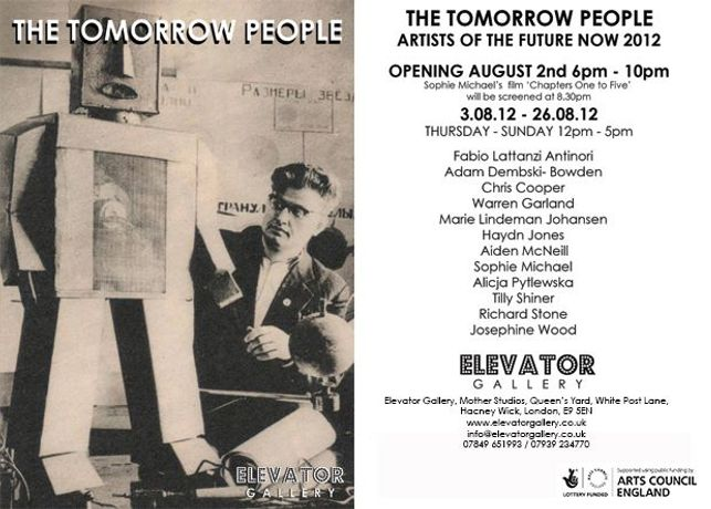 TOMORROW PEOPLE 2012 TALK / DISCUSSION PART TWO: FILM & VIDEO WORKS: Image 0