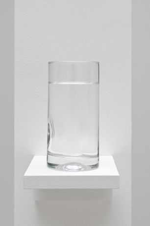 Pope.L, Well, 2009, wood, glass, water, dimensions variable © Pope.L, Courtesy of the artist and Mitchell-Innes & Nash, NY.