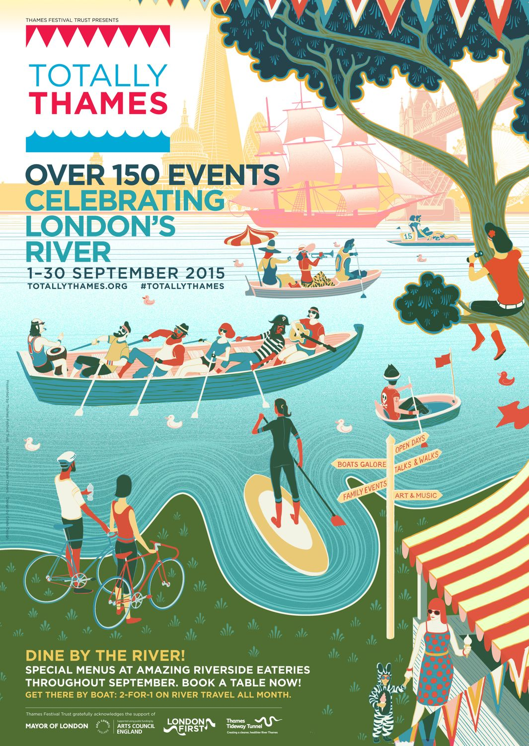Art Events Calendar London : Totally thames returns to nine elms on the south bank