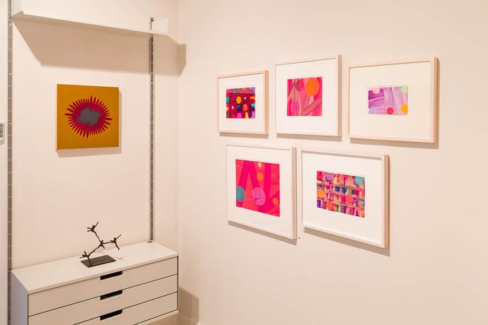 TOUCH, showing work by Julian Brown, Celia Cook, Jane Harris and Mali Morris: Image 4