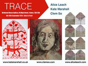 TRACE: The art of Clem So, Alice Leach & Kate Marshall
