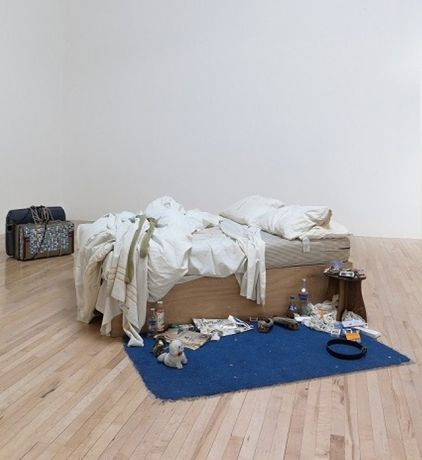 My Bed (1998), Tracey Emin © Tate, London 2017
