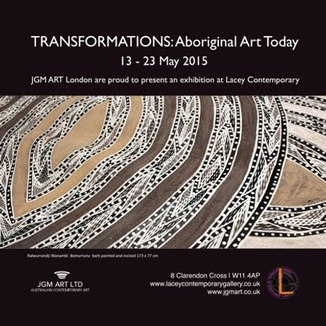 Transformations: Aboriginal Art Today- Charity Lecture and Reception: Image 0