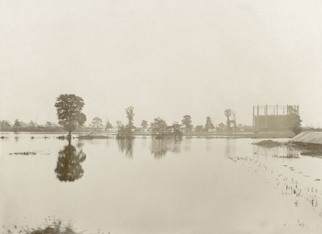 Floods on Leyton marshes, 1903 ©Vestry House Museum