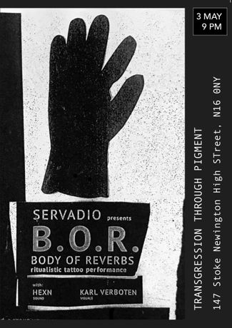 3 MAY Body Of Reverbs EVENT 9 PM