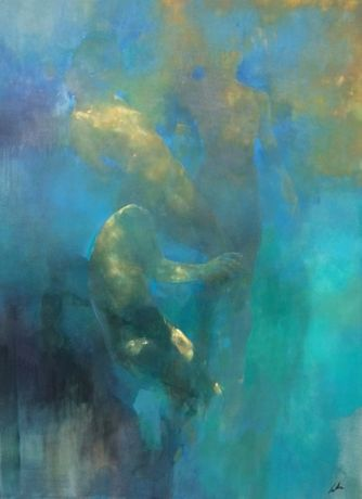 Bill Bate - The Edge of your Mind 48x36in £2500