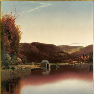Transitional Nature Hudson River School Paintings from the David and Laura Grey Collection