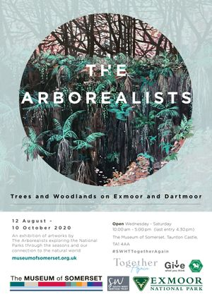The Arborealists at the Museum of Somerset. Artwork by Claire Cansick