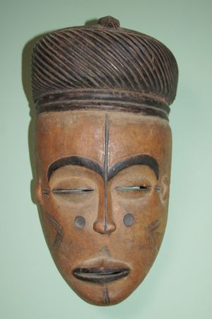 Lwena dance mask offered by Rob Temple