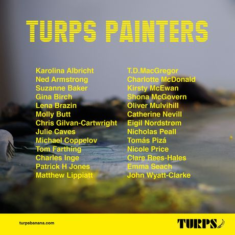 Turps Painting Programme Open Studios: Image 1