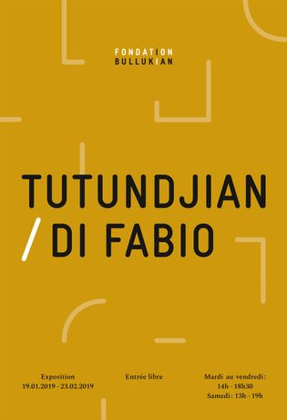 Exhibition Tutundjian / Di Fabio