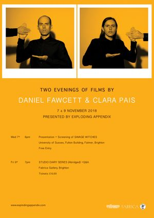 Two Evenings of Films by Daniel Fawcett and Clara Pais