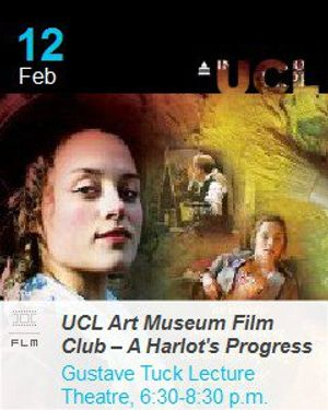 UCL Art Museum Film Club – A Harlot's Progress