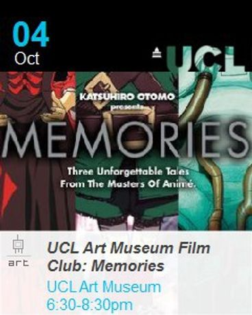 UCL Art Museum Film Club: Magnetic Rose: Image 0