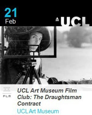 UCL Art Museum Film Club: The Draughtsman's Contract