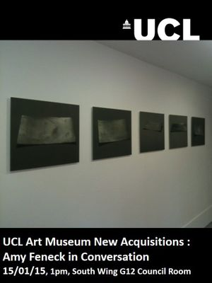 UCL Art Museum New Acquisitions – Amy Feneck in Conversation