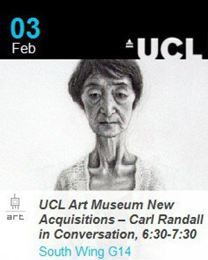 UCL Art Museum New Acquisitions – Carl Randall in Conversation