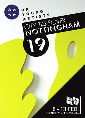 UK Young Artists City Takeover: Nottingham 2019