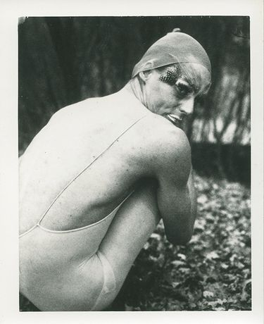 Image credit: Ulay, Elf, 1974 From the series Renais sense, Auto – Polaroid type 107. Courtesy of Ulay Foundation.