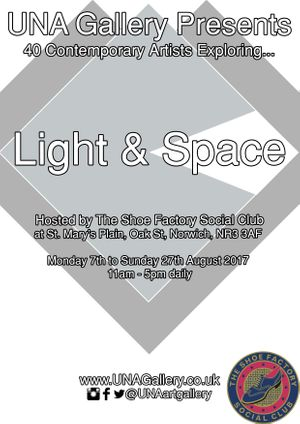 UNA Gallery presents: Light & Space