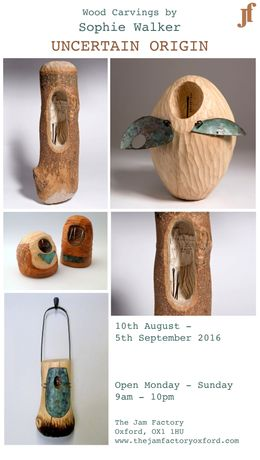 Uncertain Origin - Wood Carvings by Sophie Walker Status message: Image 0