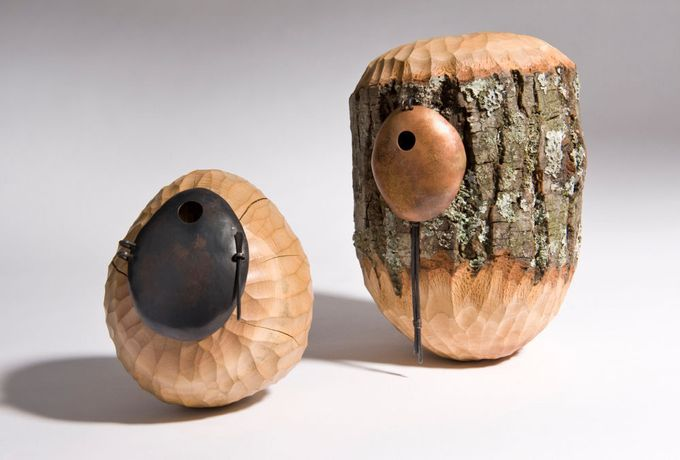 Uncertain Origin - Wood Carvings by Sophie Walker Status message: Image 3