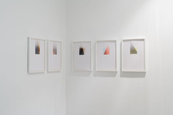 Grace Weir, Future Perfect, 2015 - ongoing. Installation view, Laure Genillard Gallery, London