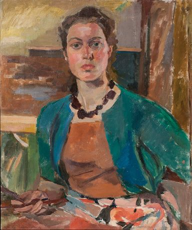 Unity Spencer, Self Portrait, 1954