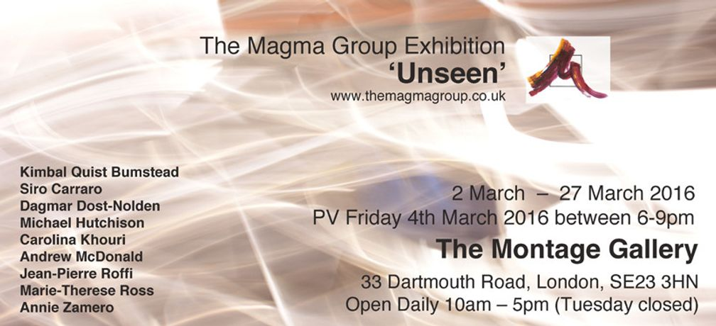 'Unseen'The Magma Group Exhibition: Image 0