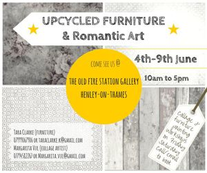 Upcycled Furniture & Romantic Art