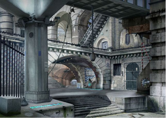 Urban Chiaroscuro: Works after Piranesi by Emily Allchurch: Image 0