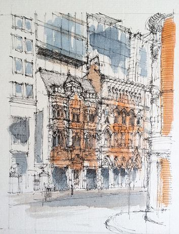 Urban Drawing. Workshop with Ed Isaacs