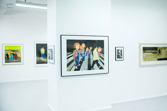 Exhibition view, photo: Alexander Bondar