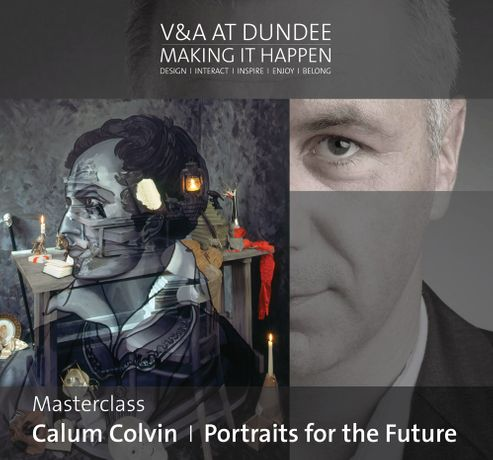 V&A at Dundee Masterclass: Calum Colvin  — Portraits for the Future: Image 0