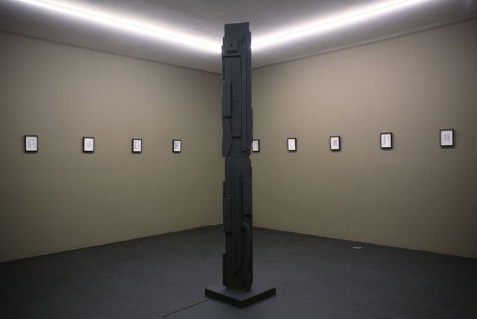 Vaginal Davis & Louise Nevelson Chimera, 2017 Installation View