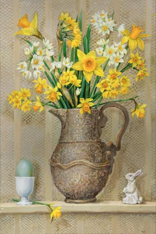Daffodils and White Rabbit
