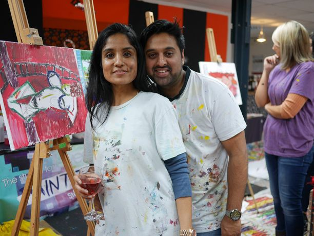 *Valentine's special* PAINT JAM NIGHT: FRIDA & DIEGO: Image 3