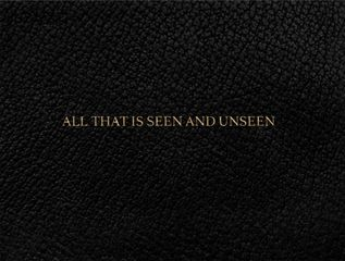 Vartan Avakian. All That Is Seen and Unseen