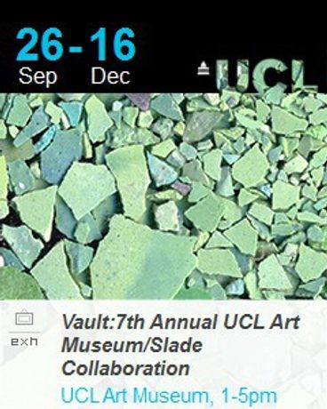 Vault: 7th Annual UCL Art Museum/Slade Collaboration: Image 0