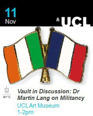 Vault in Discussion: Dr Martin Lang on Militancy: Image 0