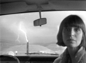 Image: Lightning, Marlene and Paul Kos, 1976. Image copyright of the artist, courtesy of Video Data Bank, www.vdb.org