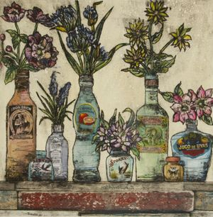 Vicky Oldfield: Flowers: the eccentric and ordinary
