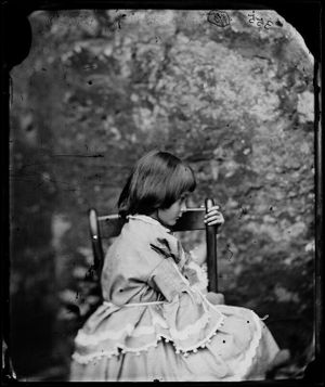 Alice Liddell by Lewis Carroll, 1858. Image © National Portrait Gallery