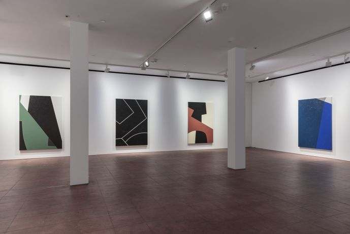 Virginia Jaramillo: Foundations, Hales New York, 18 October - 8 December, Installation View. Shot by Stan Narten