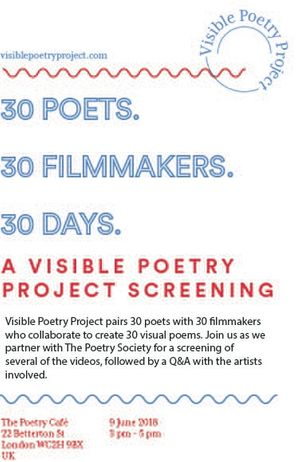 Visible Poetry Project Screening - London