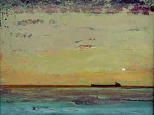 Tanker, Margate by Francis Tinsley RE