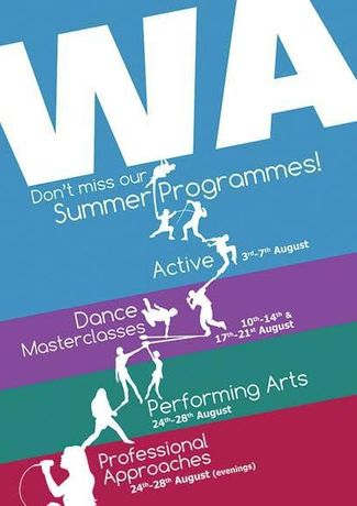 Wac Arts Summer Programme 2015