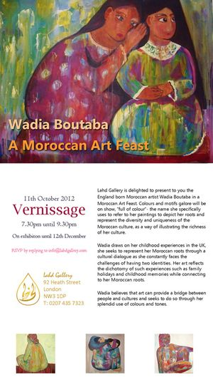 Wadia Boutaba: A Moroccan Art Feast
